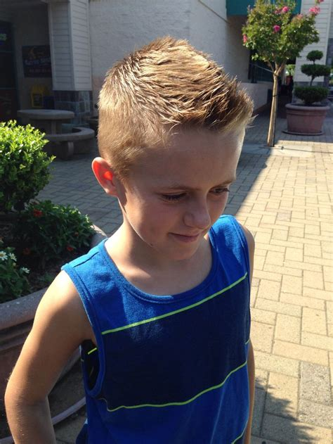 boy haircuts for tweens boys front faux hawk for my boys pinterest faux