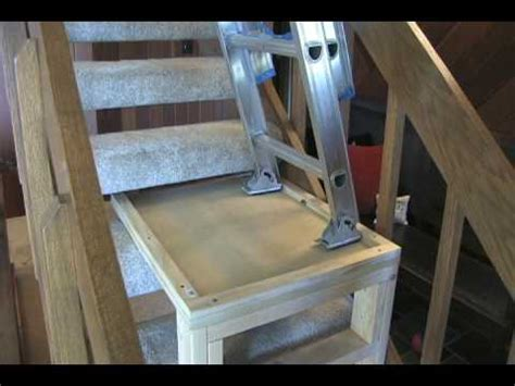put up lights without ladder how to build a ladder platform by matt fox of hgtv s room