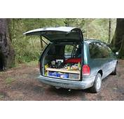 Minivan Camper Conversion – Stage One Complete  Morehawes