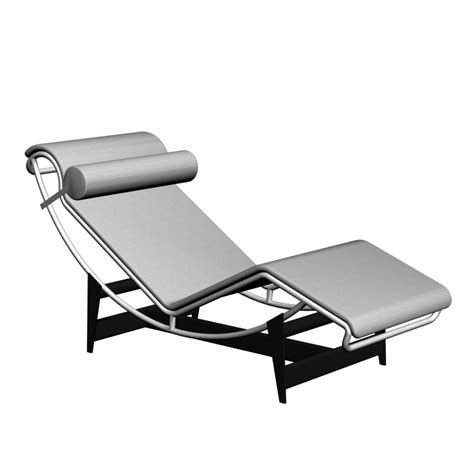 chaise design lc4 chaise longue design and decorate your room in 3d