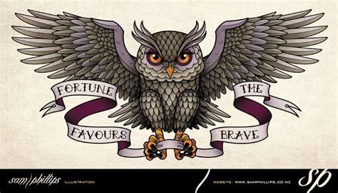 flying owl tattoo designs sams august 2012
