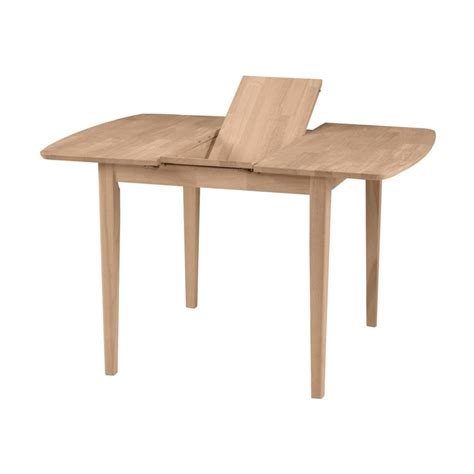 shop international concepts wood extending dining table at