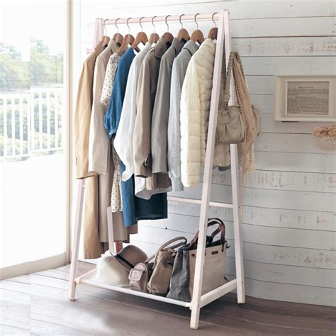 bedroom clothes rack yi creative home floor wood coat rack hangers clothes