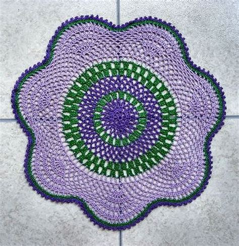 doily rug pattern 17 best images about doily for rugs patterns on t shirt rugs crochet and crochet rugs