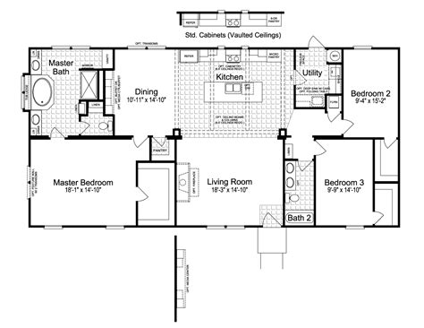 palm harbor mobile home floor plans view the sonora i floor plan for a 1984 sq ft palm harbor