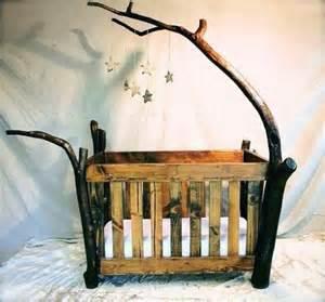 wooden rustic baby crib baby owen