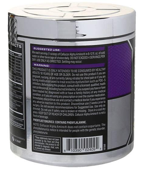 l supplements amino acids bcaa cellucor alpha amino performance bcaa powder review