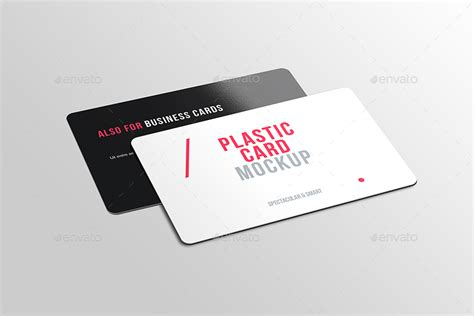plastic card design template transparent business card mockup psd image collections