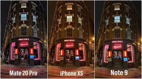 huawei mate  pro  iphone xs  samsung note
