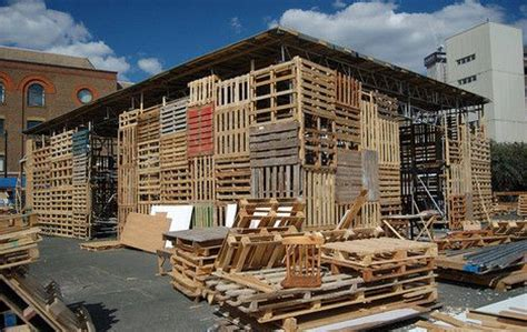 Low Cost Restaurant Interior Design by Pallets For People A Cheap And Ubiquitous Building