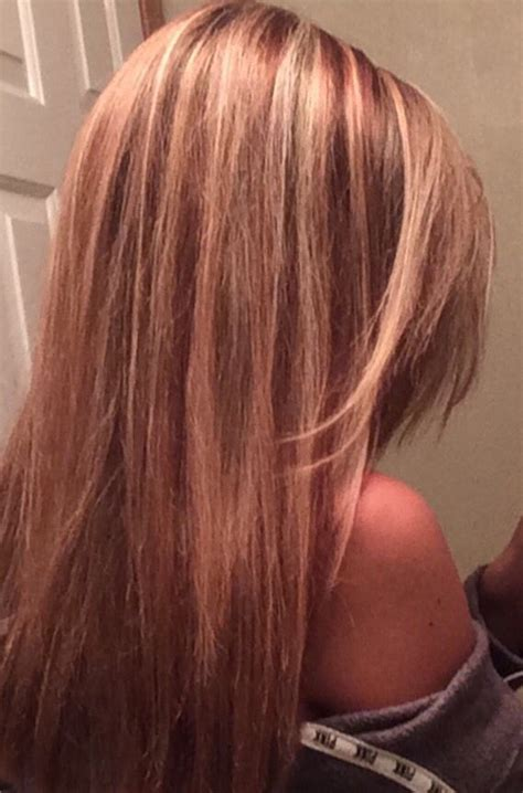 whats for blonds or lite hair that is thin or balding strawberry red lowlights light blonde highlights beauty