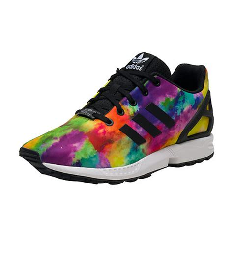 multi colored adidas adidas zx flux sneaker multi color s74958 jimmy jazz
