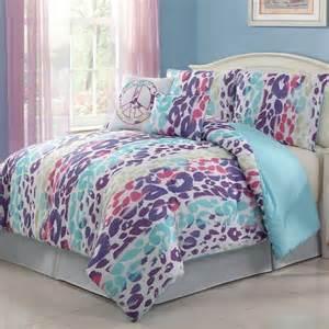 4pc multi color bedding set twin from burlington coat factory