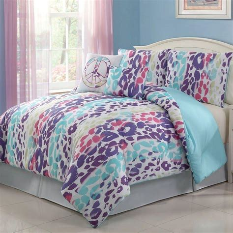 4pc multi color bedding set twin from burlington coat factory
