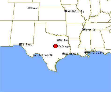 mcgregor texas map mcgregor profile mcgregor tx population crime map