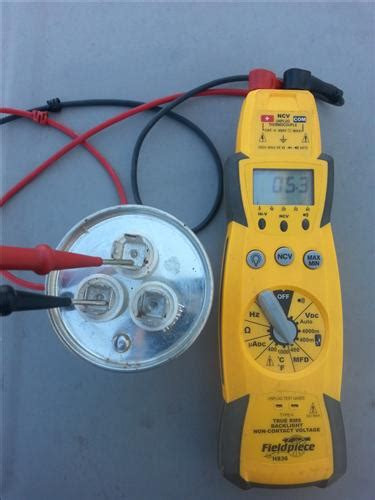 how to test an ac run capacitor start and run capacitor explained hvac how to
