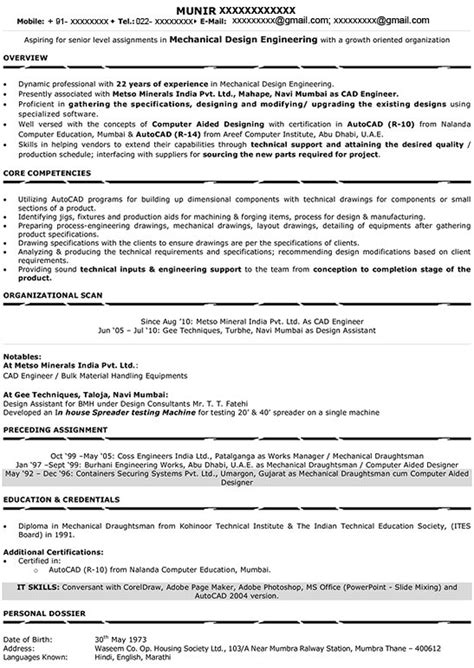 Preparation Of Resume For Freshers by Resume Writing For Executives Senior Manager Resume