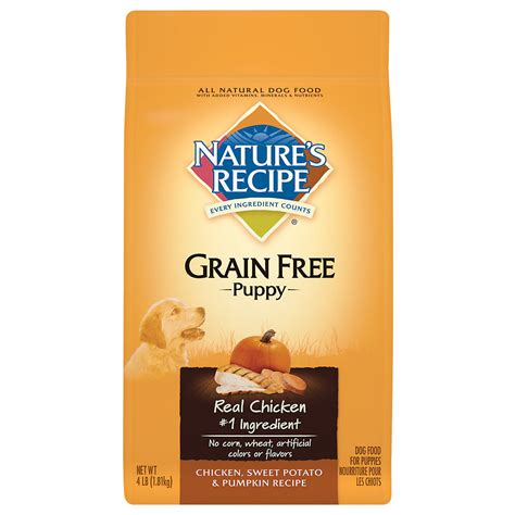 potato free food upc 730521527242 nature s recipe chicken sweet potato pumpkin grain free puppy