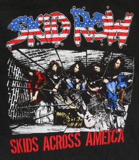Kaos Band Skid Row Tshirt Musik Rock Skid 01 178 Best Vintage Metal T Shirts Images On