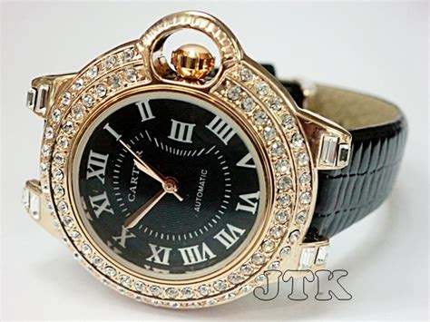 Jam Tangan Wanita Cartier New jam tangan cartier buble leather rp 200 000