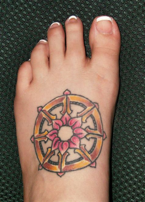 dharma tattoo dharma wheel lotus www imgkid the image kid