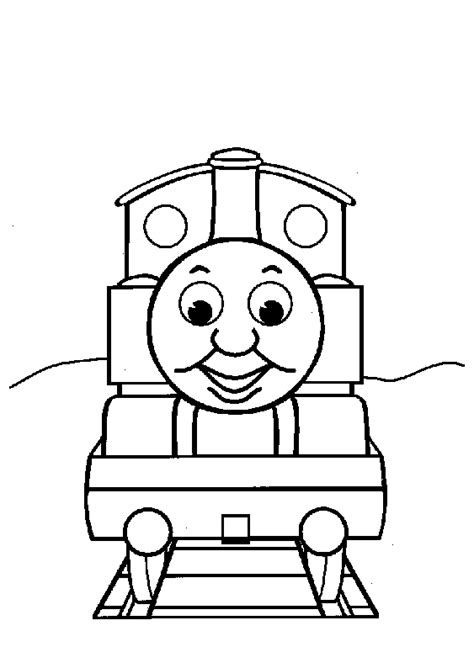 thomas train coloring pages printable