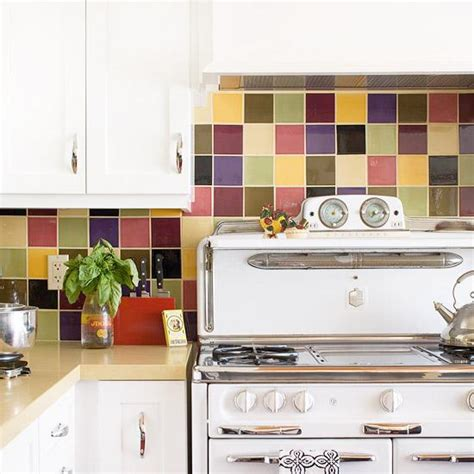 colorful backsplash tile modern wall tiles 15 creative kitchen stove backsplash ideas