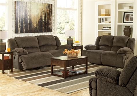 chocolate living room set toletta chocolate living room set from ashley 5670181 86