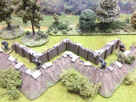 the zig zag pattern of trenches on the front lines was designed to field fortification zig zag trench system paul s