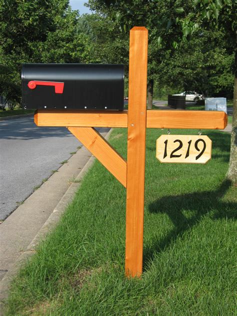 wood l post designs residential mailboxes and wooden posts custom mailboxes