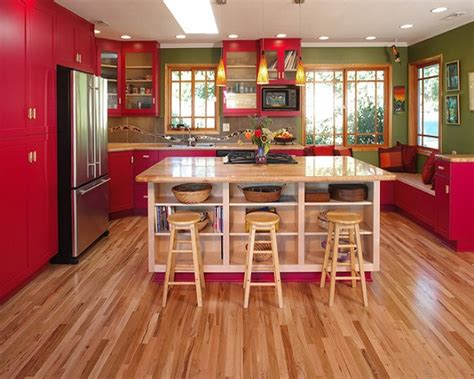 imagenes de cocinas integrales rojas de 25 fotos con ideas de cocinas rojas