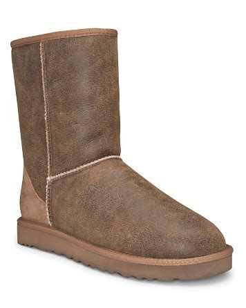 UGG® Australia Men's Chestnut Classic Short Bomber Boot