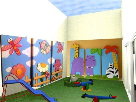 imagenes jardines de infantes patio exterior jard 237 n de infantes con paneles did 225 cticos