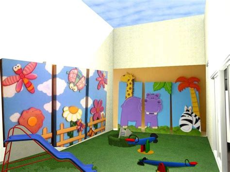 imagenes infantiles jardin de infantes patio exterior jard 237 n de infantes con paneles did 225 cticos