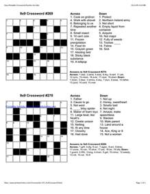 easy crossword puzzles i m going to be an slp pinterest