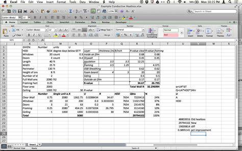 Heat Load Calculation Spreadsheet by Uncategorized Hvac Load Calculation Worksheet