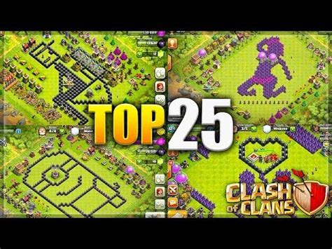 coc layout funny clash of clans new th10 farming base with 275 walls s