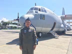 pilot commands c130 flight across world s largest