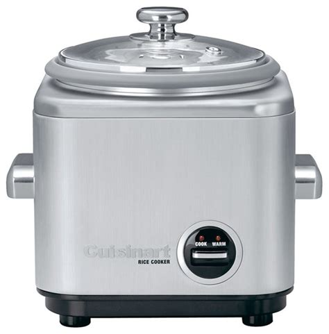 cuisinart kitchen appliances cuisinart 4 cup stainless steel rice cooker contemporary