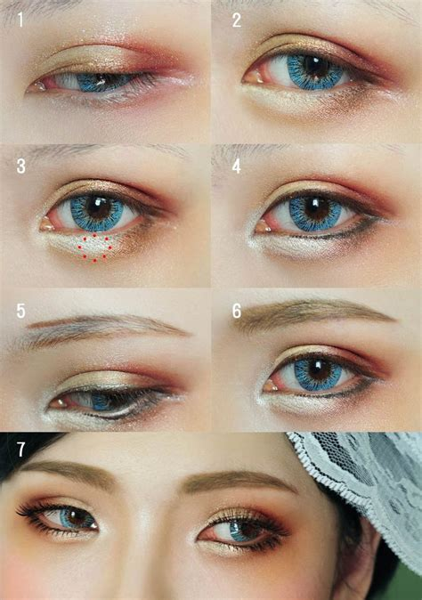 tutorial eyeliner cosplay 178 best images about costumes make up on pinterest