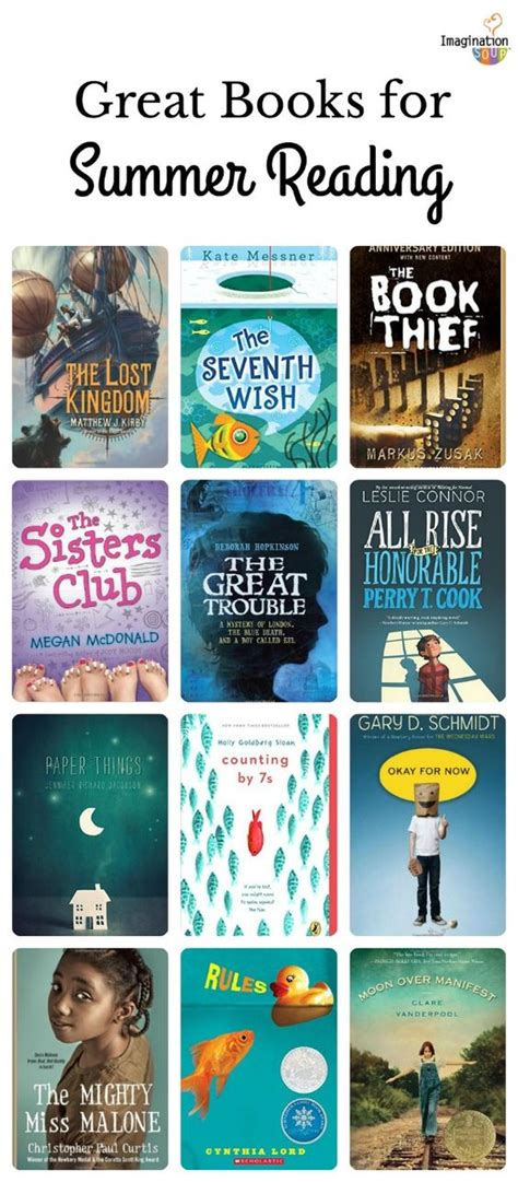 biography book list for 6th grade 6th grade summer reading list ages 11 12 good books