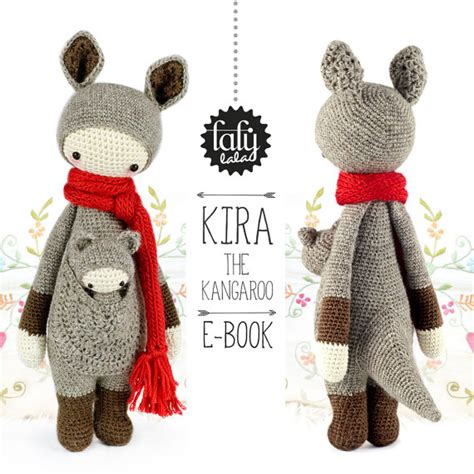 Amigurumi Lalylala lalylala crochet pattern kangaroo amigurumi by lalylala
