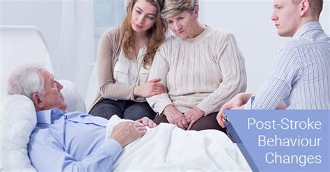 stroke mood swings behaviour changes that might occur after a stroke c care