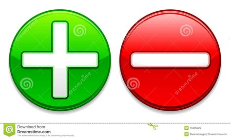 imagenes mas y menos plus and minus buttons eps royalty free stock photo