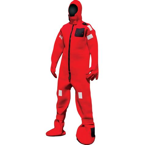mustang immersion suit mustang survival cold water immersion suit lifesaving