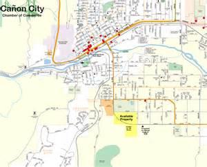 map of canon city colorado us observer
