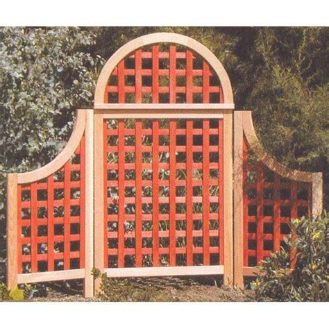 Arboria Andover Arch Landscape Screen To It Arboria Andover 5 Ft Cedar Wood Arch