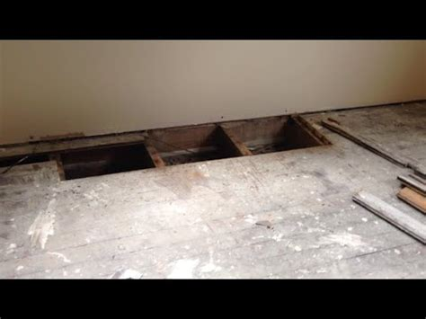replacing a section of hardwood floor our kitchen renovation part x replacing rotted floor