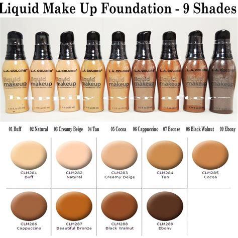 Make Liquid Matte Foundation l a colors mineral liquid foundation make up