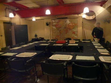 Churchill Museum And Cabinet War Rooms London London Churchill War Cabinet Rooms